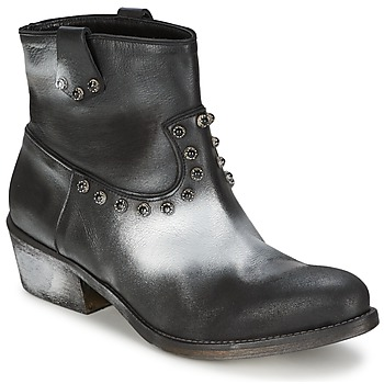 Bottines / Boots Strategia SFUGGO Noir/Argent 350x350