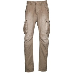 Pantalons cargo Freeman T.Porter PUNACHO COTTON GAB CHOCOLATE CHIP