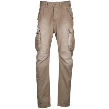 Pantalons Freeman T.Porter PUNACHO COTTON GAB CHOCOLATE CHIP Marron / Beige 350x350
