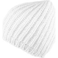 Accessoires textile Femme Bonnets Nyls Création Bonnet et écharpe Blanche Rita par Blanc