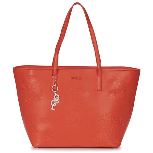 Cabas / Sacs shopping Desigual SAN FRANCISCO BLICK Rouge 350x350