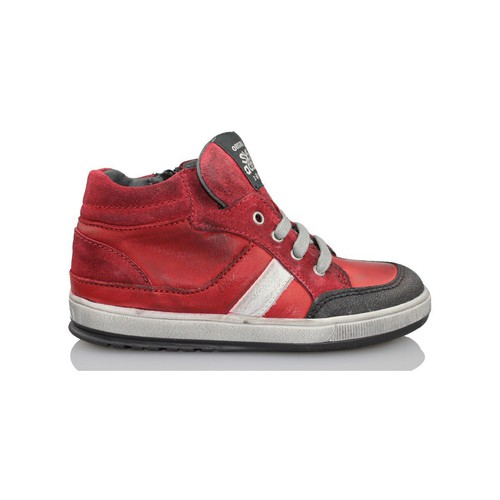 Chaussures Enfant Baskets montantes Acebo's KIDS BOY ROUGE