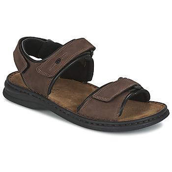 Chaussures Homme Sandales et Nu-pieds Josef Seibel RAFE Marron / Noir