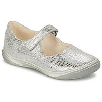 Chaussures Fille Ballerines / babies Shoo Pom MILA BABY Argent