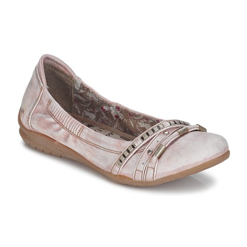 Chaussures Femme Ballerines / babies Mustang IVERO Rose