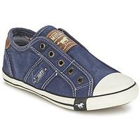Chaussures Garçon Baskets basses Mustang SHAYAN Jean