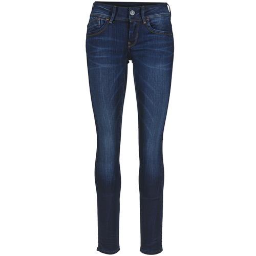Jeans G-Star Raw LYNN MID SKINNY Slander Blue Superstretch Medium Aged 350x350