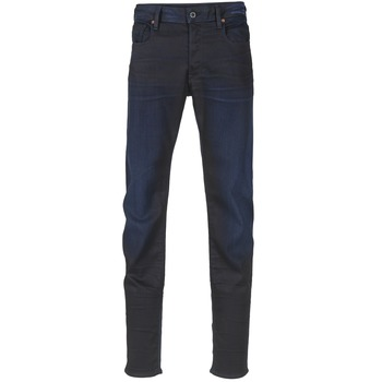 Vêtements Homme Jeans slim G-Star Raw 3301 SLIM Dark Aged Slander Super Stretch Denim