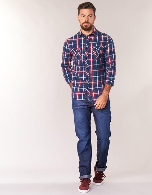 Vêtements Homme Jeans droit G-Star Raw 3302 STRAIGHT Hydrite Denim Dk Aged