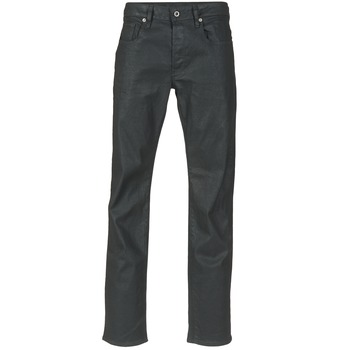 Vêtements Homme Jeans droit G-Star Raw 3302 STRAIGHT STRETCH Noir