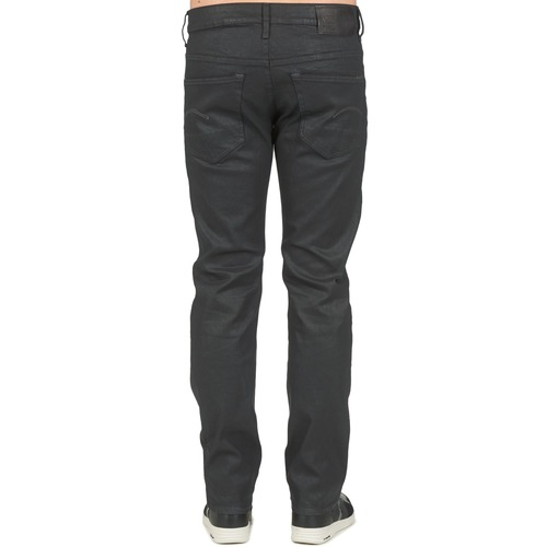 Noir Straight Homme Stretch Droit G Jeans star 3302 Raw v0Pwm8nyNO