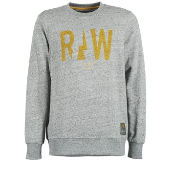 Sweats & Polaires G-Star Raw RIGHTREGE R SW L/S Gris 350x350