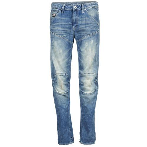 Jeans G-Star Raw 5620 3D LOW BOYFRIEND WMN Medium Aged Painted Scatter Denim 350x350