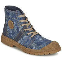Chaussures Femme Baskets montantes Pataugas AUTHENTIQUE/DE Bleu