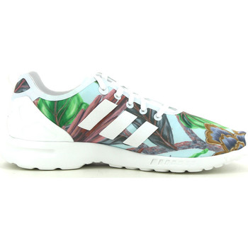 Chaussures Femme Baskets basses adidas Originals ZX Flux smooth Bleu