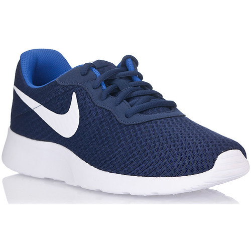 Nike TANJUN Blue - Chaussures Baskets basses Homme
