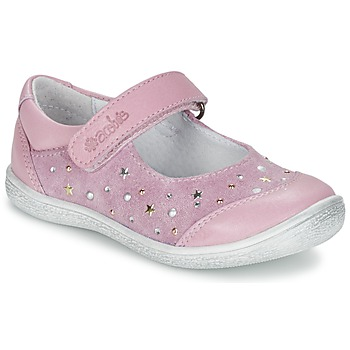 Chaussures Fille Ballerines / babies Acebo's DARKA Rose