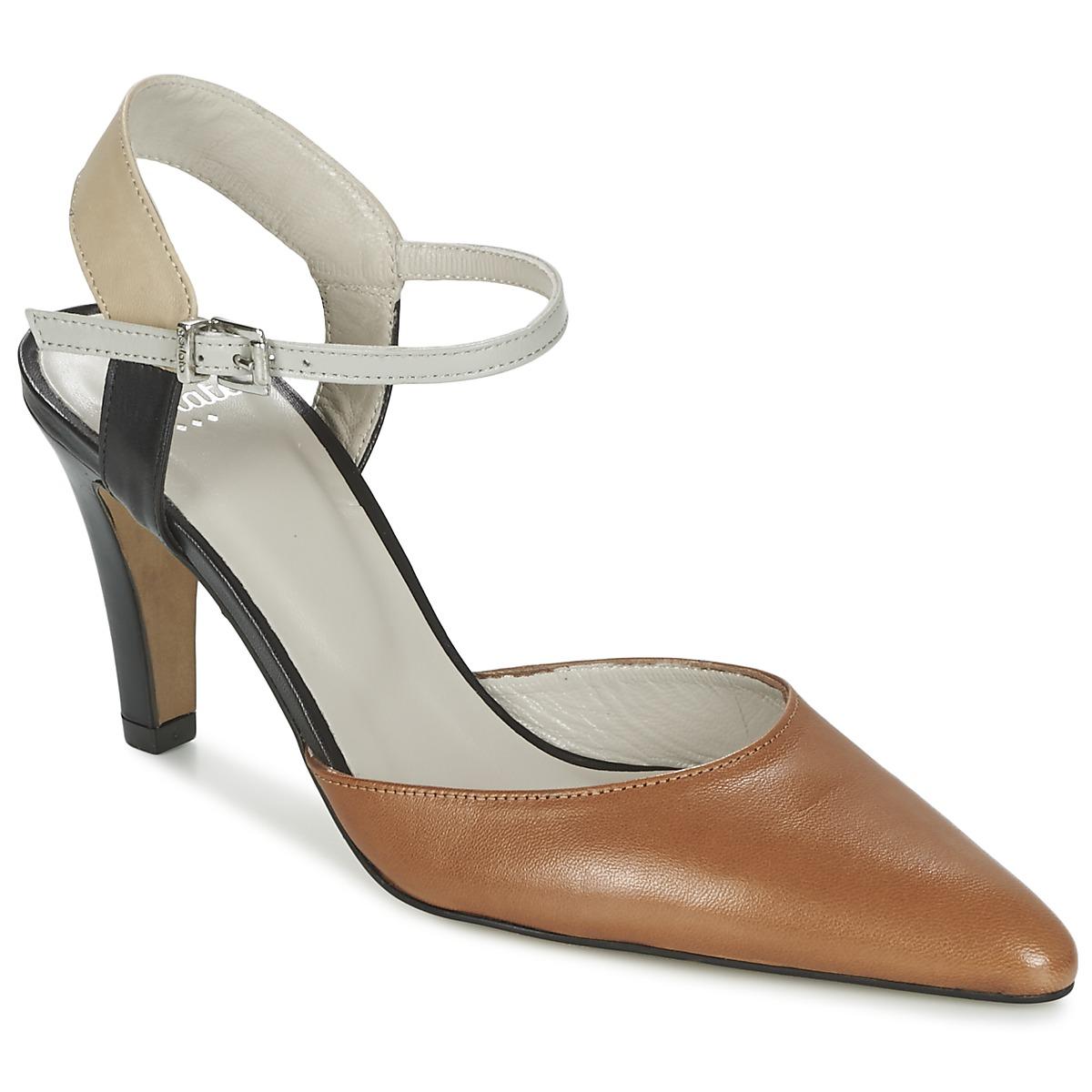 Sandale Perlato ANTELLA Cognac
