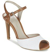 Chaussures Femme Sandales et Nu-pieds Perlato PINEDA Blanc