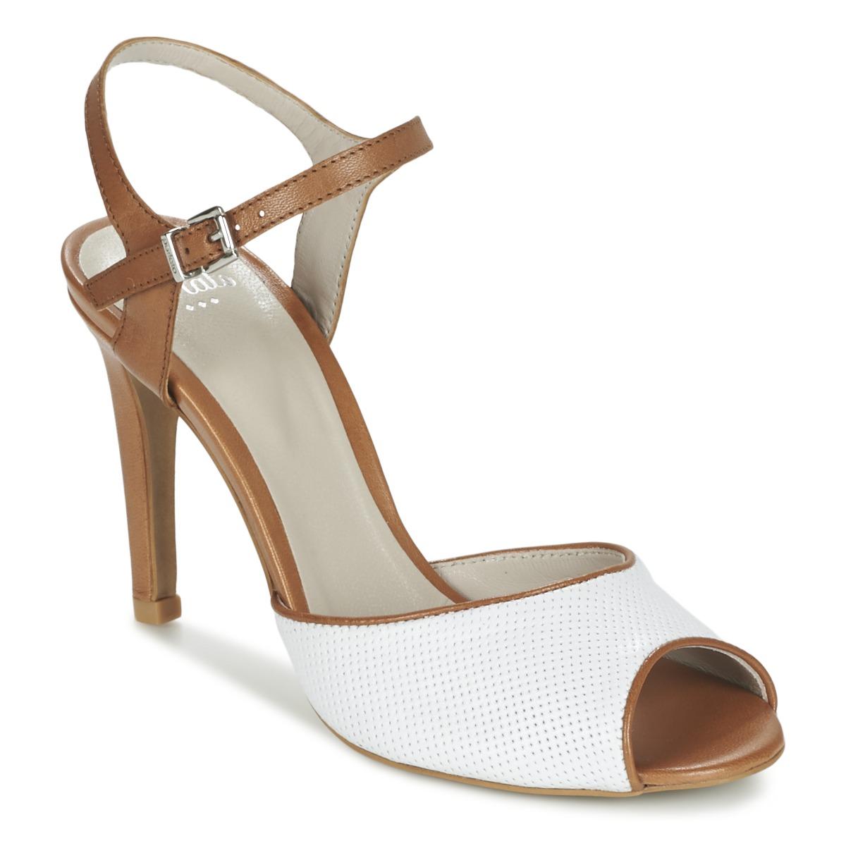 Sandale Perlato PINEDA Blanc