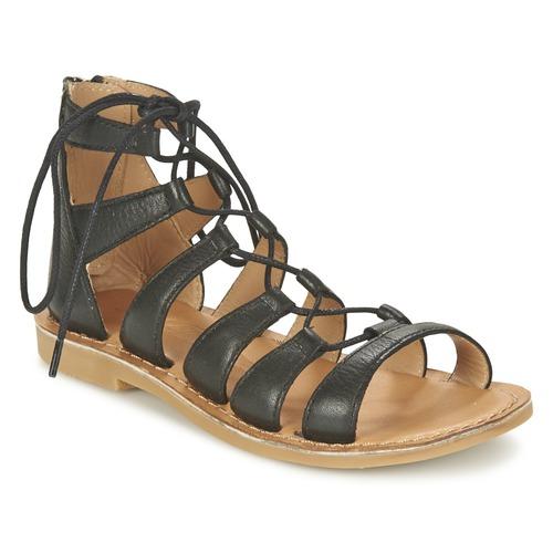 Chaussures Fille Sandales et Nu-pieds Shwik LAZAR HI LACE Noir