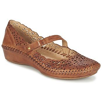 Chaussures Femme Ballerines / babies Pikolinos PUERTO VALLARTA 655 Camel