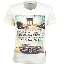 Vêtements Homme T-shirts manches courtes Kaporal KORKY Ecru