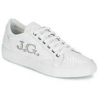Chaussures Femme Baskets basses John Galliano 7977 Blanc