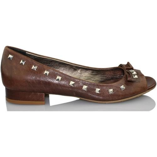 Chaussures Femme Escarpins Paco Herrero MADEIRA CIOCCO BRUN