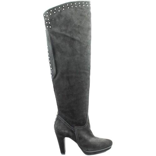Paco Herrero Botte NOIR - Chaussures Botte ville Femme