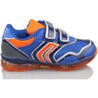 Chaussures Garçon Baskets basses Geox B TODO DBK BLEU