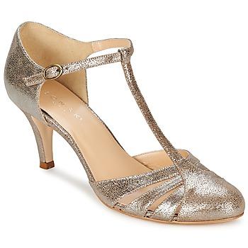 Chaussures Femme Escarpins Jonak LAURAIA Or/Taupe