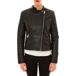 Vestes en cuir / synthétiques Comme Des Garcons Perfecto 8A007 noir
