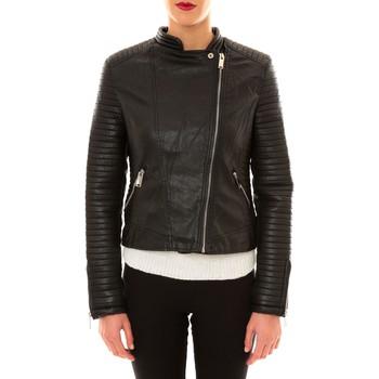 Vêtements Femme Vestes en cuir / synthétiques Comme Des Filles Comme des Garçons Perfecto 8A007 noir Noir