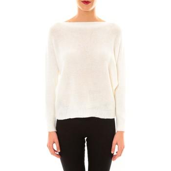 Vêtements Femme Pulls De Fil En Aiguille Pull Galina blanc Blanc
