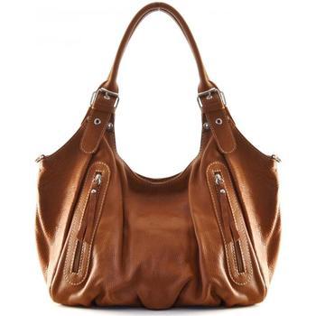 Sacs Femme Sacs porté épaule Oh My Bag Sac à Main CUIR femme - Modèle St trop' cognac foncé COGNAC FONCE