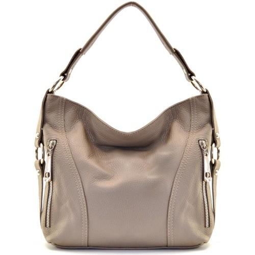 Sacs Femme Sacs porté main Oh My Bag Sac à Main CUIR femme - Modèle S taupe foncé TAUPE FONCE