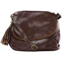 Sacs Bandoulière Oh My Bag Sac à Main cuir souple - Modèle 72 heures (petit) marron moyen