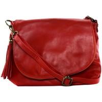 Sacs Femme Sacs porté épaule Oh My Bag Sac à Main cuir souple - Modèle 72 heures (petit) rouge clair ROUGE CLAIR