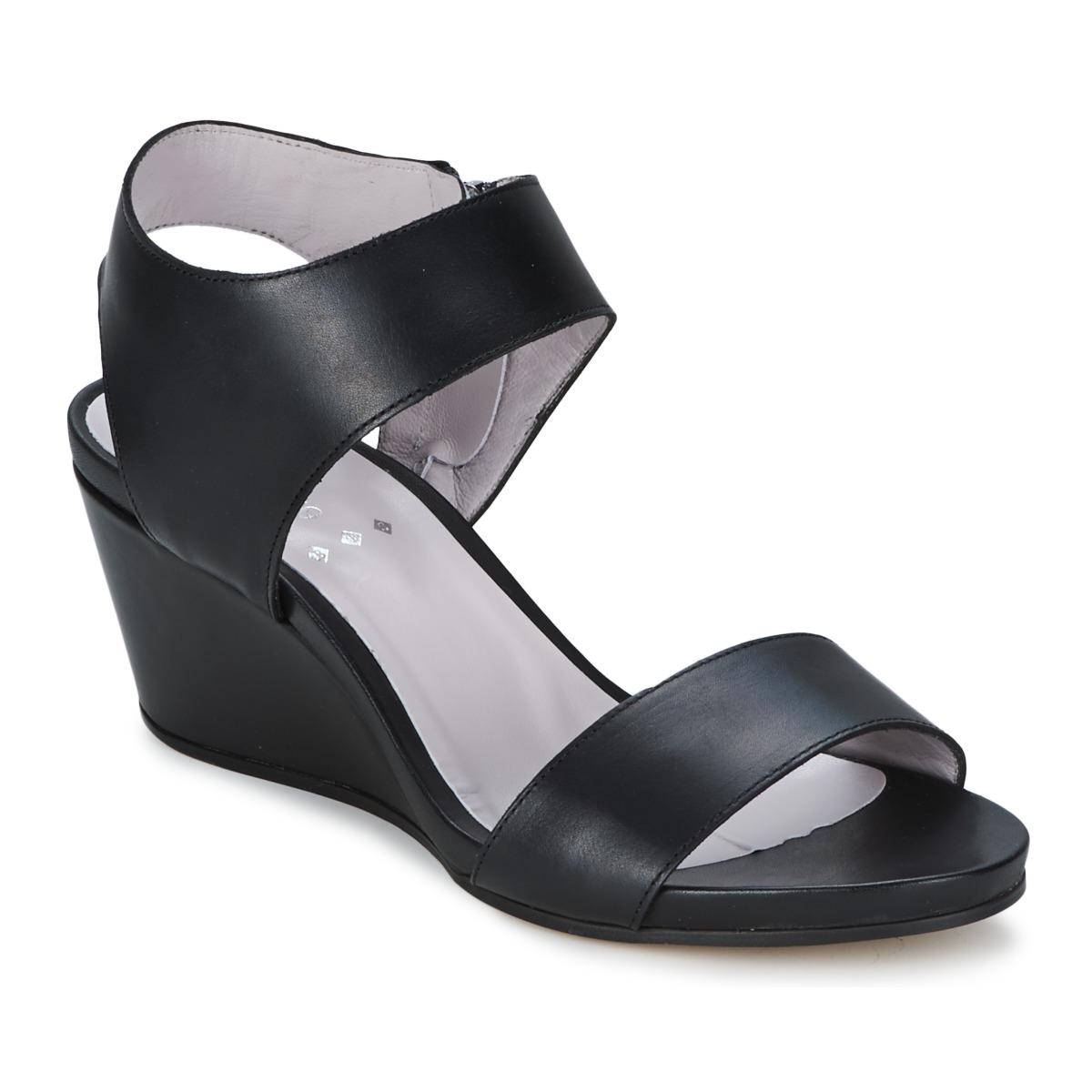 Sandale Perlato SELCETTA Noir