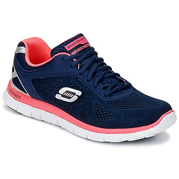 Chaussures Femme Multisport Skechers FLEX APPEAL LOVE YOUR STYLE MEMORY FOAM Bleu / Rose