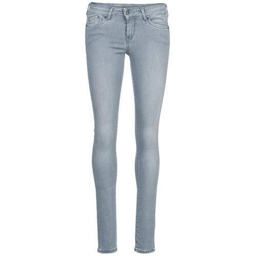 Vêtements Femme Jeans slim Pepe jeans PIXIE Gris Q81