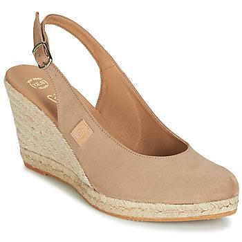 Chaussures Femme Sandales et Nu-pieds Betty London TECHNO Beige