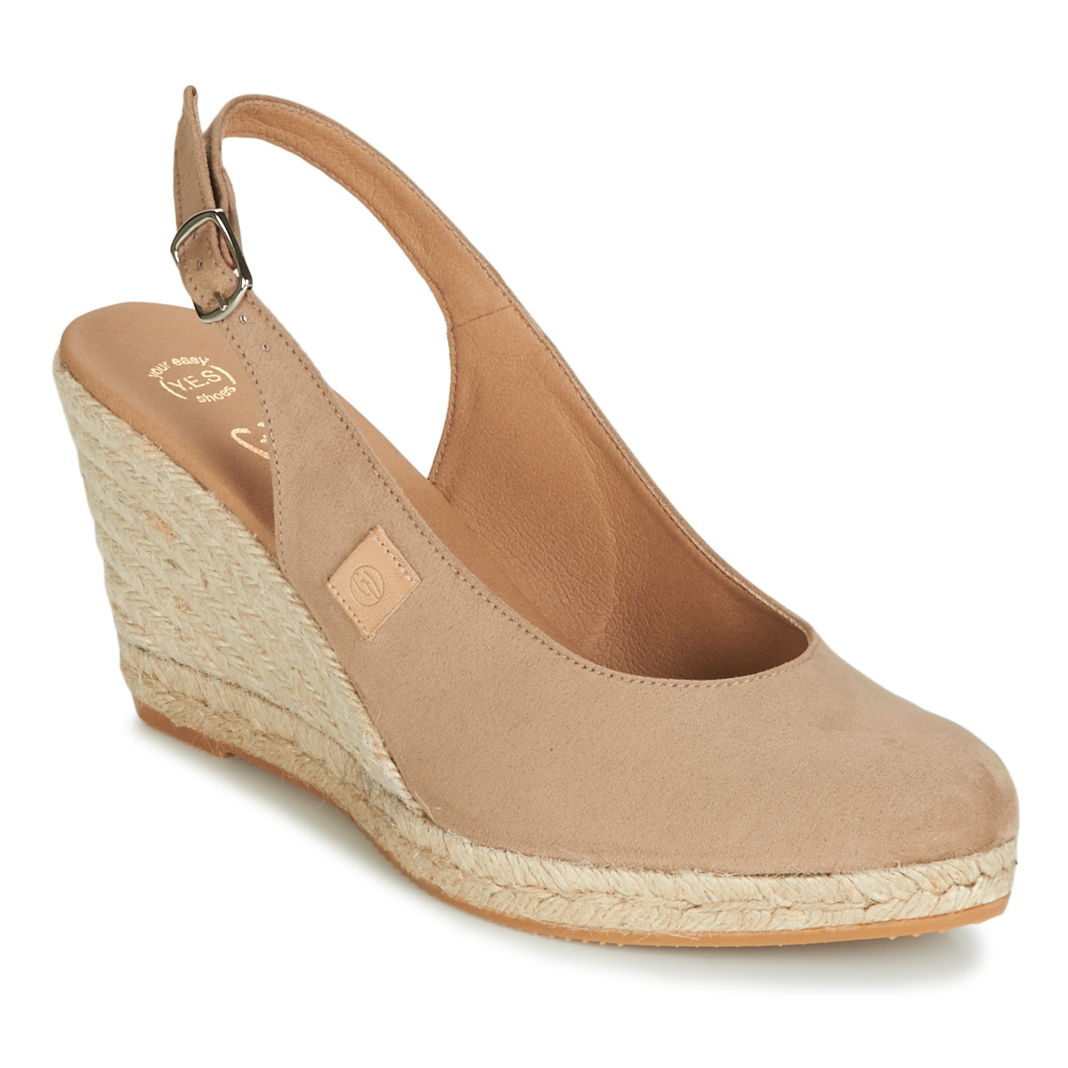 Sandale Betty London TECHNO Beige
