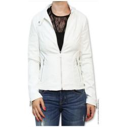 Vêtements Femme Vestes / Blazers Guess Veste  Stefania Blanche Blanc