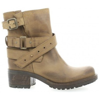 Chaussures Femme Boots Pao Boots cuir nubuck Taupe