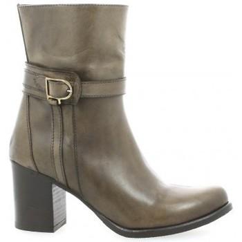 Chaussures Femme Bottines Elizabeth Stuart Boots cuir Taupe