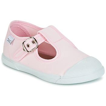 Chaussures Fille Ballerines / babies Citrouille et Compagnie RISETTE JANE Rose
