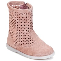 Chaussures Fille Boots Citrouille et Compagnie BOREAL Rose