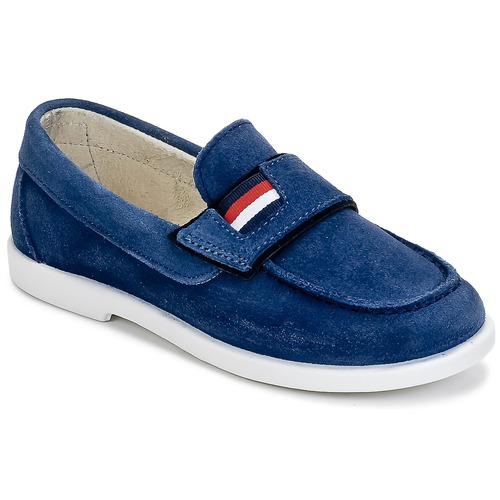 Chaussures Garçon Mocassins Citrouille et Compagnie LILMOUSSE Bleu Marine